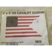 US Cavalry Guidon