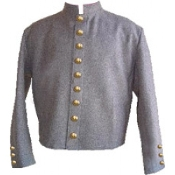 Gray Wool Fully-Lined ( 9 CSA Buttons ) on Front ( 3- Button )