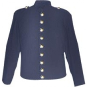 Navy-Blue Wool Fully-Lined ( 9 Eagle Buttons ) on Front