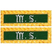 Shoulder Rank Medical Officer