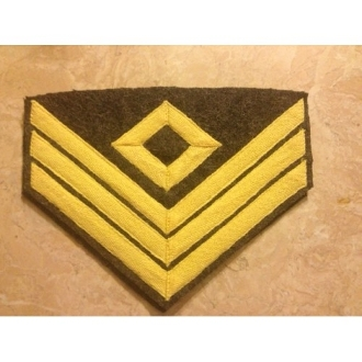 CS Chevrons First Sargent